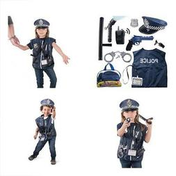 12 pcs police costume for kids