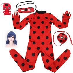 2019 hot Carnival Clothing Lady Bug Cosplay Sets Ladybug Hal