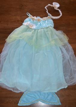 Pottery Barn Kids 7 8 Blue Mermaid Halloween Dress Up Costum