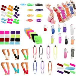 80's Neon Accessories for Dance  Hen Stag Fancy Costume Acce