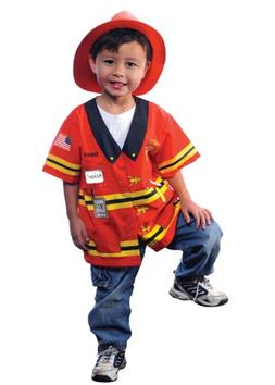 AEROMAX - My First Career Gear - Firefighter Toddler Costume