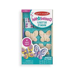 Melissa & Doug Decorate-Your-Own Wooden Butterfly Magnets Cr