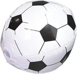 Rhode Island Novelty 12 Soccer Ball Beach Balls Inflatable F