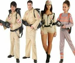 Adults Kids Ghostbuster Costume Ghostbusters Fancy Dress Out