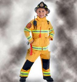 Adventure Factory Firefighter Child Costume. With Attached T
