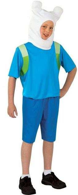 Adventure Time Child's Finn Costume, Medium
