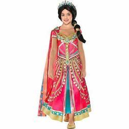 Party City Aladdin Pink Jasmine Costume Kid Disney Princess