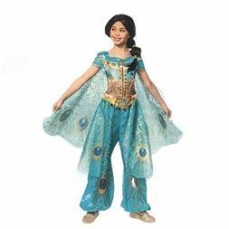Disney Aladdin's Licensed Princess Jasmine Teal Deluxe Child