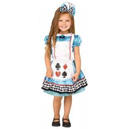 Alice In Wonderland Costume Toddler Kids Halloween Fancy Dre