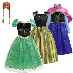 Anna <font><b>Dress</b></font> For Girl <font><b>Kids</b></f