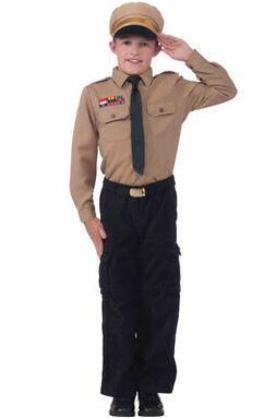 Forum Novelties Army General Instant Child Costume Kit, Larg