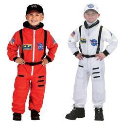 Astronaut NASA White or Orange Suit. Astronaut Costume. Chil