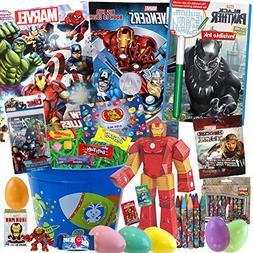 Avengers Easter Basket 25 Pc Kit Easter Eggs, Easter Candy,