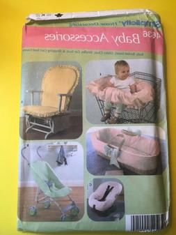 Simplicity Baby Accessories Pattern #4636 Uncut FF
