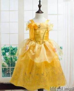 Belle Princess Disney inspired Dress costume Child Toddler B