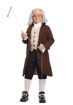 Benjamin Franklin Ben Colonial Man 17th Century Historical C