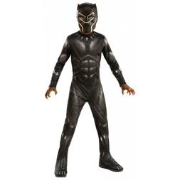 Black Panther Costume Kids Halloween Fancy Dress