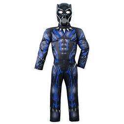 Marvel Black Panther Light-Up Costume for Kids Size 5/6