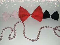 Bows 3pcs Accessory, Clothes, Hair, Kids, Womens, Mens, Cosp