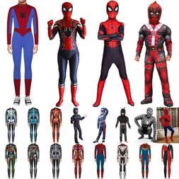 Boy Kid Venom Superhero Superhero Halloween Cosplay Costume