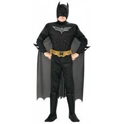 Boys Batman Costume Kids Halloween Fancy Dress