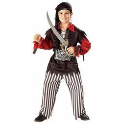 Boys Pirate Costume Kids Halloween Fancy Dress
