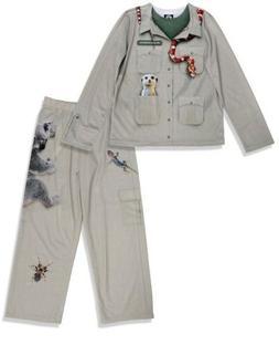 Brand New Boys/Girls Zookeeper Costume Pajama Set Kids Size