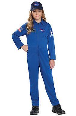 Brand New NASA Jumpsuit Astronaut Child Costume