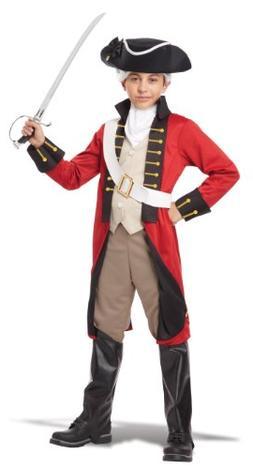 British Redcoat Kids Costume