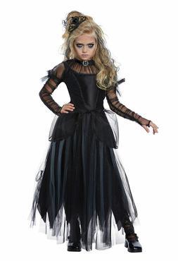 California Costumes Dark Princess Black Child Girls Hallowee