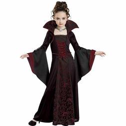 California Costumes Royal Vampire Folklore Child Girls Hallo
