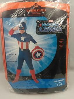 Marvel Captain America The First Avengers Costume Child M 7-
