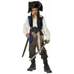 Captain Jack Sparrow Costume Kids Pirates of the Caribbean H