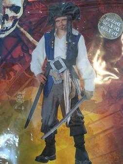 Captain Jack Sparrow Deluxe Disney Halloween Costume Child s