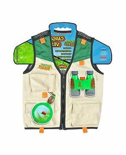 Nature Bound Cargo Vest for Kids with Zipper, 4 Pockets, and