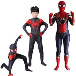 Cartoon Kids Boys Mens Superhero Party Cosplay Costume Fancy