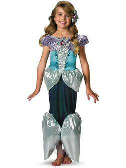 Child Deluxe Disney The Little Mermaid Princess Ariel Shimme
