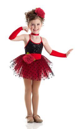 Child Extra Small BROADWAY BABY Dance Costume Dress Shirley
