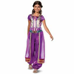 Child Girls Disney Aladdin Princess Jasmine Live Action Purp