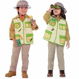 KIDS CHILD SAFARI JUNGLE BOOK ZOO ANIMAL FANCY DRESS COSTUME BOYS GIRLS AGE 3-6