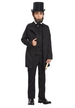 Child Kids Boys Abraham Lincoln Frederick Douglass Costume S