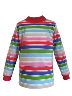 Infants/Toddlers/Kid Child Rainbow Striped Nice Guy T-Shirt