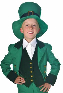 Child Kids Leprechaun St Patricks Costume Size Small Medium