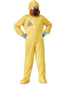 Childs Boy's Zombie Infection Outbreak Scientist Hazmat Suit