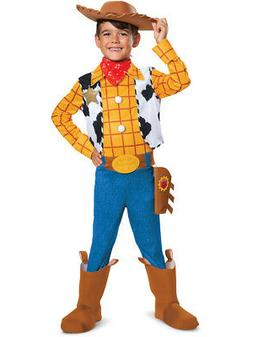 Child's Disney Deluxe Toy Story 4 Woody Costume
