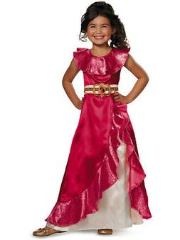 Childs Girl's Classic Disney Princess Elena Of Avalor Dress