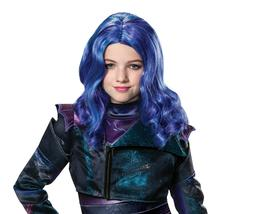 Child's Girls Disney Descendants 3 Mal Wig Costume Accessory