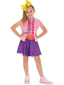 Child's Girls JoJo Siwa Music Video Outfit With Bow Costume