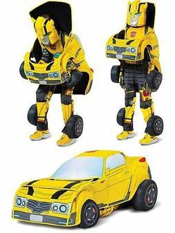 child s transformers bumblebee converting costume medium