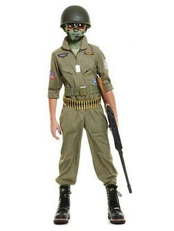 Child Top Gun Wing Man Pilot Flight Suit Costume